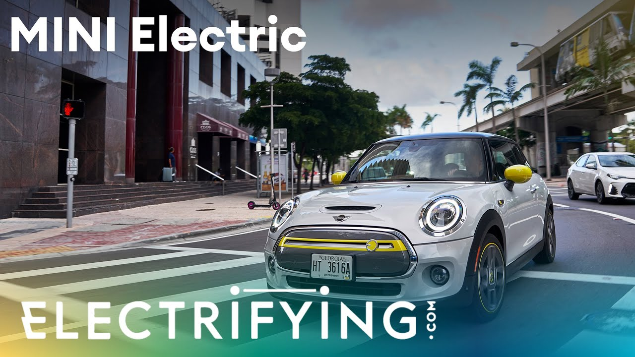 2020 MINI Electric. In-depth studio review with Tom 'Wookie Ford and Ginny Buckley / Electrifying