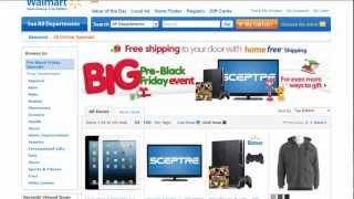 Walmart Black Friday Ad 2012, Cyber Monday Ads, Deals and Sales