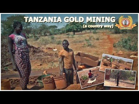 """TANZANIA """"KAHAMA"""" GOLD MINING (MUST WATCH)"""