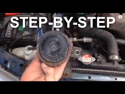 Honda Accord HORN fix - EASY FIX (STEP BY STEP) - YouTube