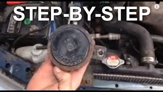 honda accord horn fix - easy fix (step by step) - youtube  youtube