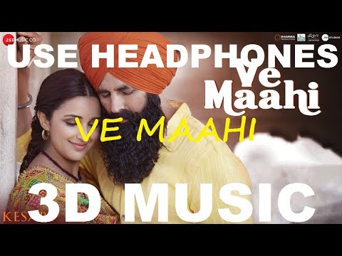 Ve Maahi | Arijit Singh | 3D Music World | 3D Bass Boosted
