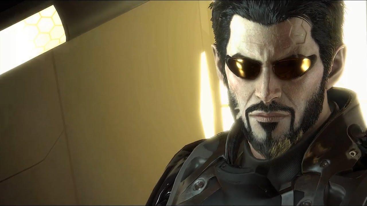 Adam Jensen Glasses Deus Ex Mankind Divide...