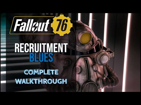 Fallout 76 - Recruitment Blues Quest (Brotherhood Of Steel)