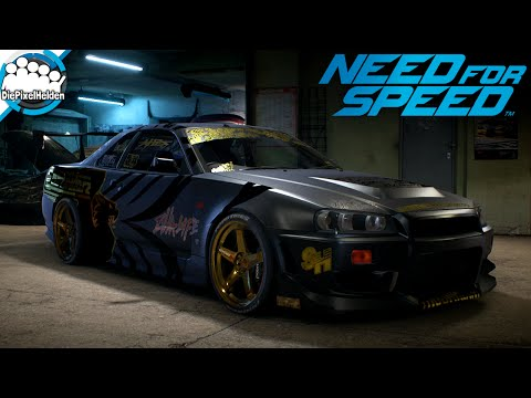 NEED FOR SPEED - Nissan Skyline GT-R (R34)  - Maxbuild - Need for Speed Carbuild