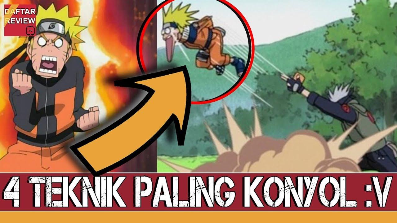 Ngakak Inilah 4 Jutsu Aneh Dan Konyol Di Era Naruto Dan Boruto