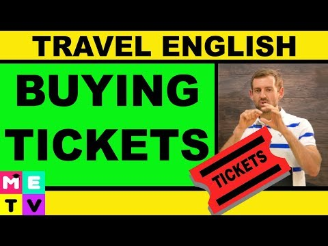 English for Travel | How to Buy Tickets