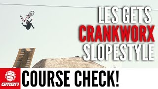 Crankworx Slopestyle Course Check | GMBN At Crankworx Les Gets