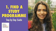 check out a8cbb 8cb25 Step 1 - Find programme and university - Duration  2 minutes, 42 seconds.