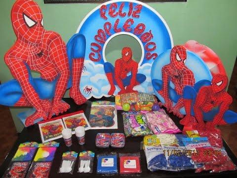 Como decorar una fiesta infantil del hombre ara a youtube for Decoracion cumpleanos nino 6 anos