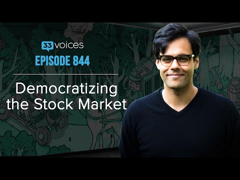 Ep 844 | Democratizing the Stock Market — Baiju Bhatt, Robinhood