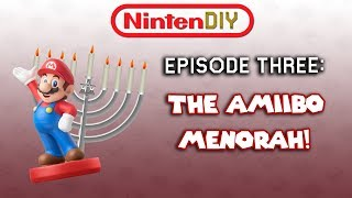 NintenDIY - Episode 3: The Amiibo Menorah!