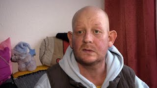 Ein Leben ohne Happy End: Der Kampf eines Obdachlosen um eine Wohnung