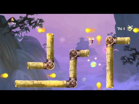 Rayman Legends - Daily Extreme Challenge - 20th Oct - The Dojo - Diamond - 894