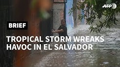 Tropical storm Amanda wreaks havoc in El Salvador | AFP
