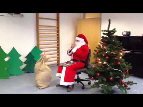 Besuch des Nikolaus im Kindergarten