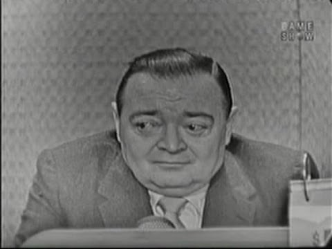What's My Line?  Peter Lorre; Steve Allen panel; Martin Gabel panel Feb 14, 1960