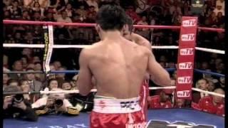 Manny Pacquiao vs. Marco Antonio Barrera II - Will to win Part (3/4)