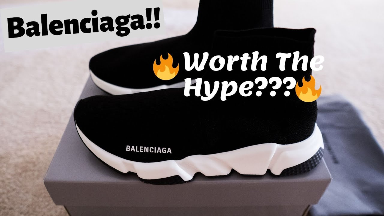 2019 Balenciaga Speed Trainer Unboxing