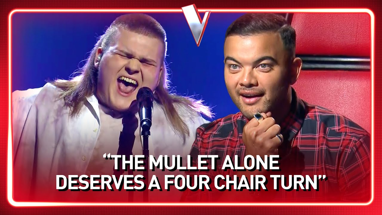 Download 16-Year-Old boy with a SICK MULLET steals the show in The Voice | Journey #121