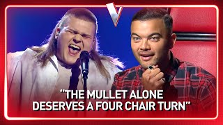 16-Year-Old boy with a SICK MULLET steals the show in The Voice | Journey #121