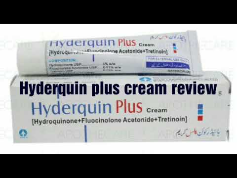Hyderquin Plus Cream Review Youtube