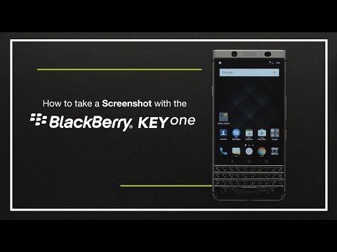 How To Take A Screenshot On The BlackBerry KEYone