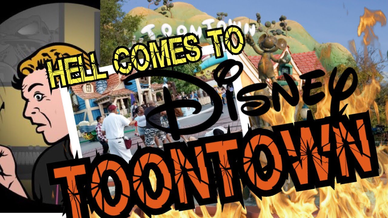 EVS: Chaos! Violence erupts at Disneyland while security guard literally scratches balls!
