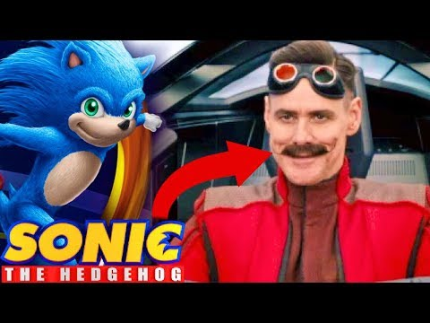 Sonic The Hedgehog Movie FIRST LOOK At EGGMAN