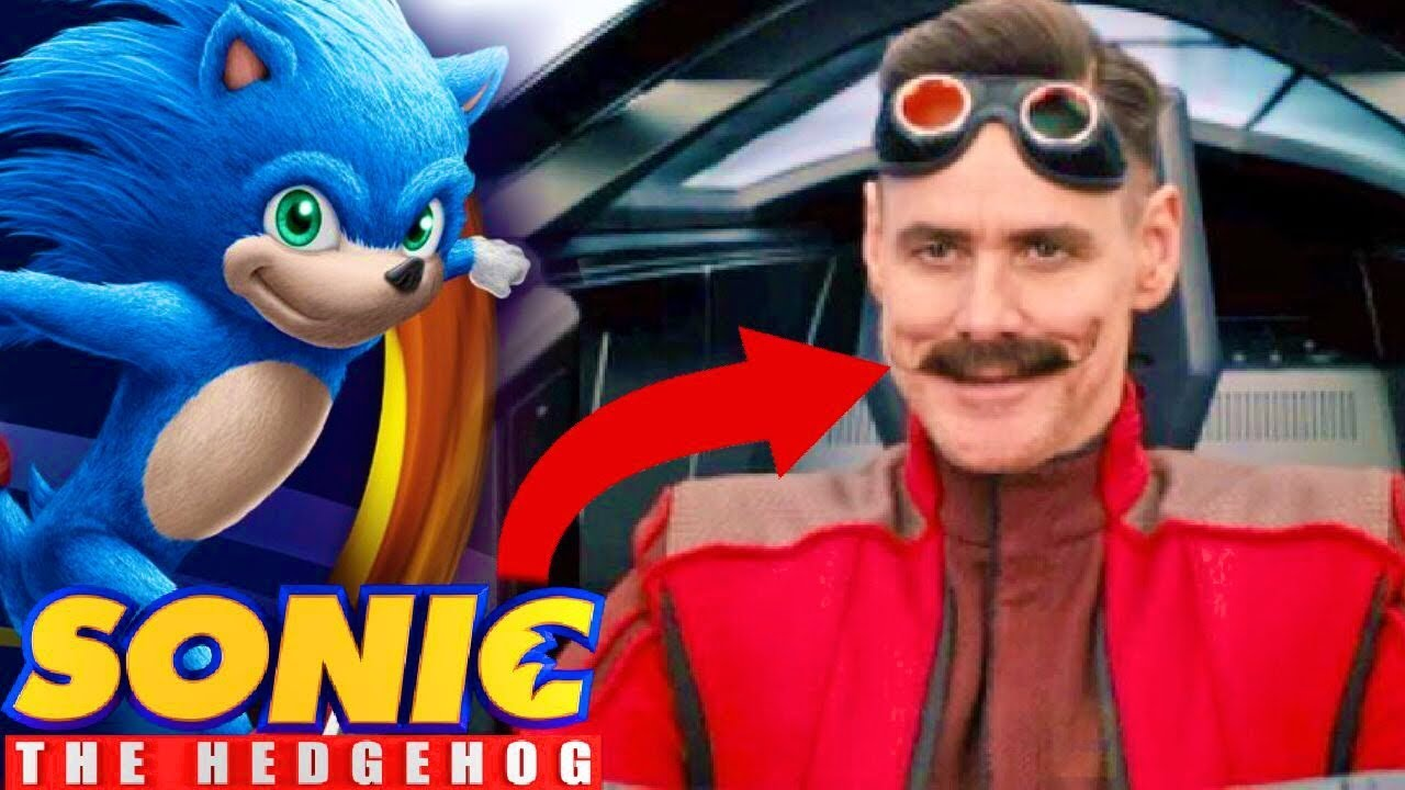 Sonic The Hedgehog Movie First Look At Eggman Youtube