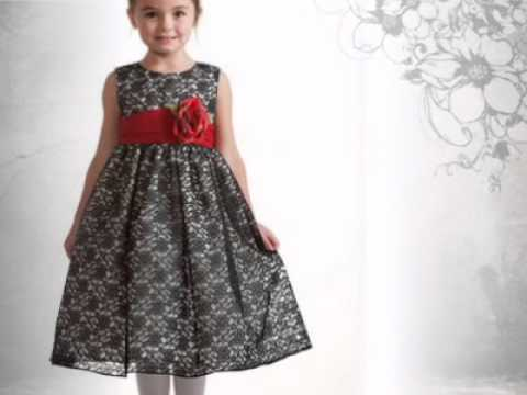 Girls lace christmas dresses baby infant toddlers amp girls