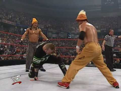 Too Cool vs X-Pac & Road Dogg - Raw 07/17/00