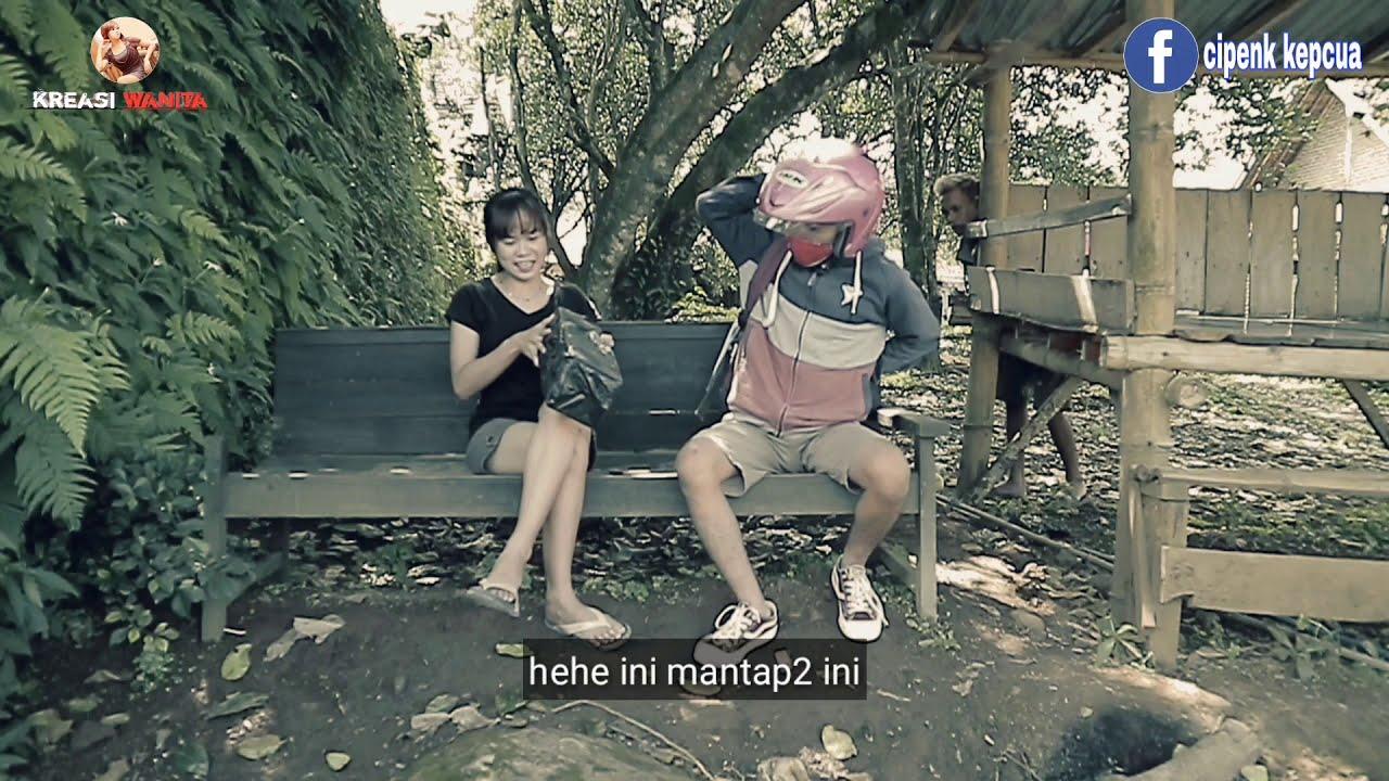 GARA GARA ALAT GETAR GETAR ENAK|film pendek lucu kreasi wanita.
