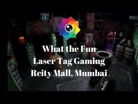 What The Fun, Laser Tag Gaming, Rcity Mall, Mumbai