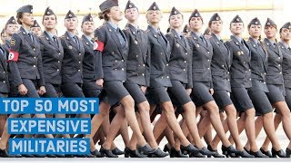 Top 50 Most Expensive Militaries In The World 2019