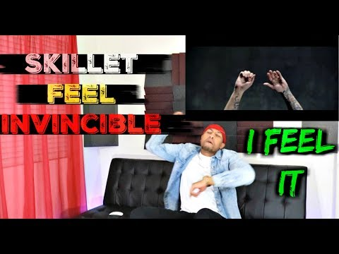 """Skillet - """"Feel Invincible"""" Official Music Video Reaction"""