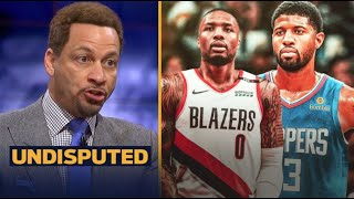 UNDISPUTED | Chris Broussard react to Lillard appears to fire warning shot at George after beef