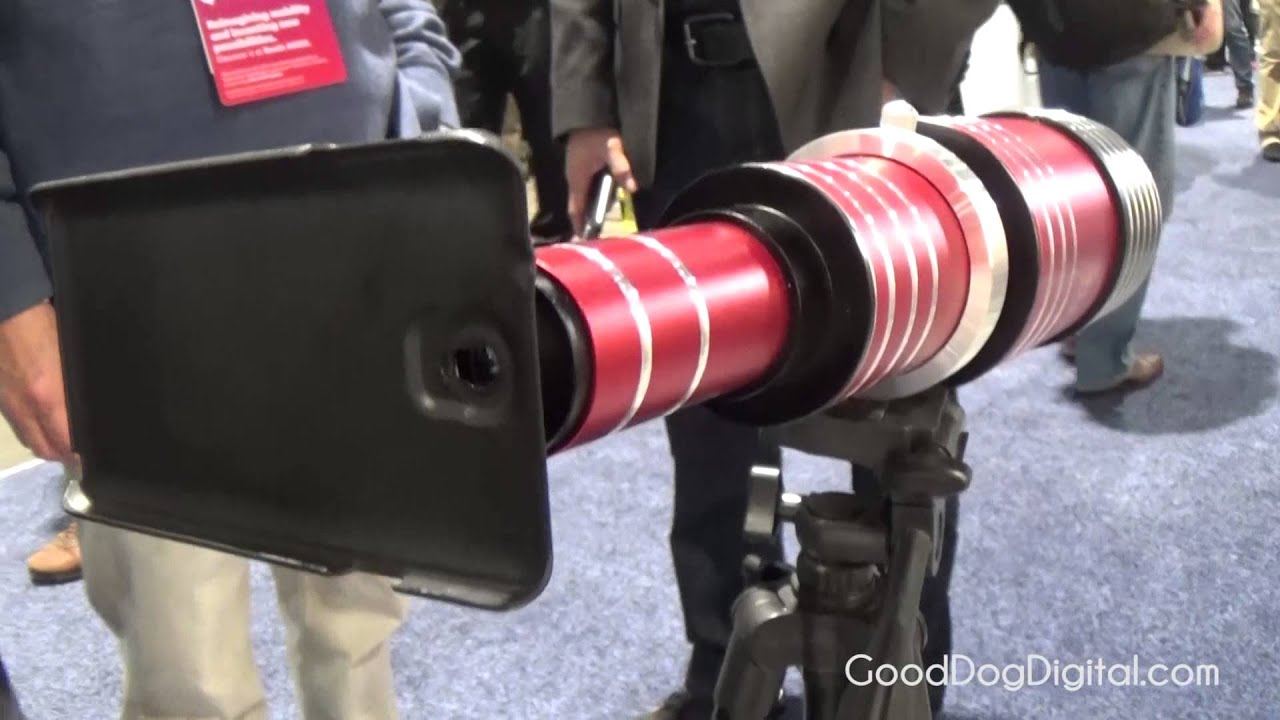 Ces 2015 80x telephoto lens for smartphones youtube