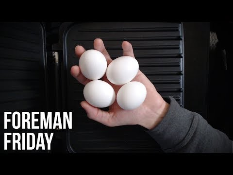 """""""You can't cook eggs on a Foreman Grill"""" OH YEAH?! WATCH THIS! (Foreman Friday #4)"""