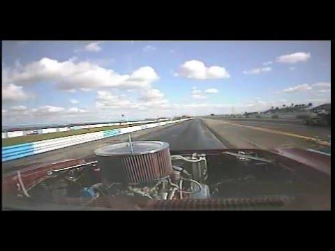 Camaro drag race crash