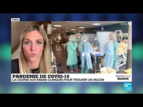 Pandémie de Covid-19: la course aux essais cliniques pour trouver un vaccin