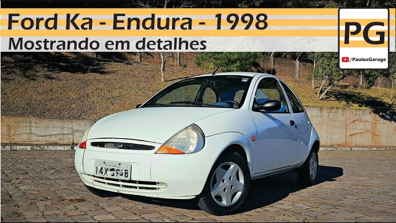 Mostrando O Carro Em Detalhes - Ford Ka 1998 -  4k