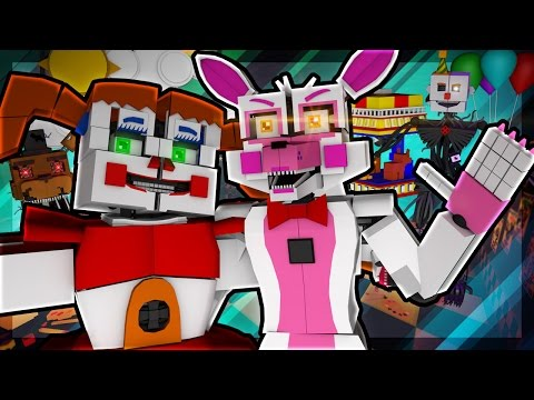Minecraft Agents - FNAF SISTER LOCATION MISSION! (Minecraft Roleplay) #4
