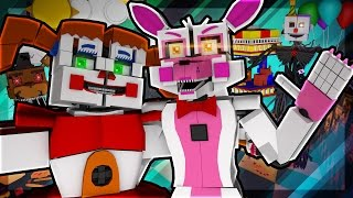 minecraft agents fnaf sister location mission minecraft roleplay 4