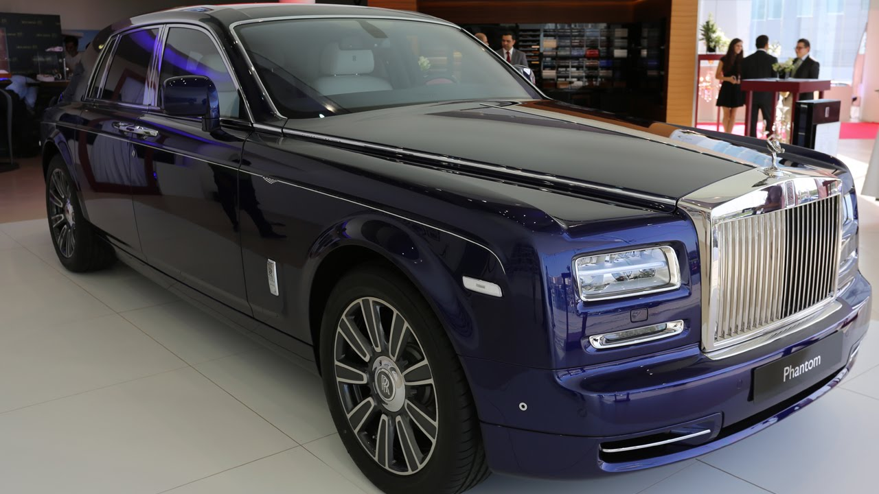 Rolls Royce Phantom Limelight Limited Edition Launched In Oman Youtube