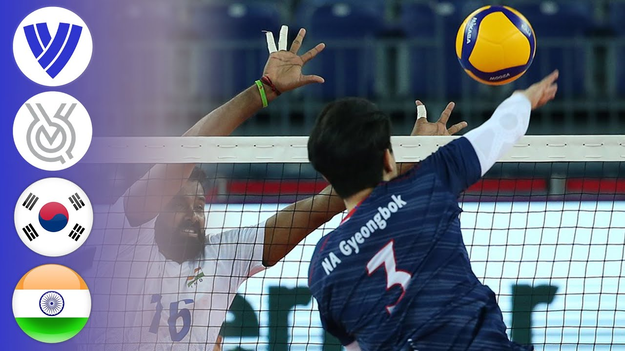 Korea vs. India - Full Match | AVC Men's Tokyo Volleyball Qualification 2020