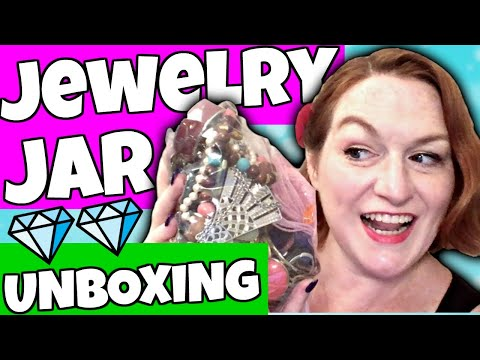 Goodwill Haul 2018 - Jewelry, Jewelry Jars Opening, Vintage Purses to Resell on Etsy