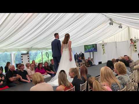 The Bridal Lounge Catwalk show at Nunsmere Hall