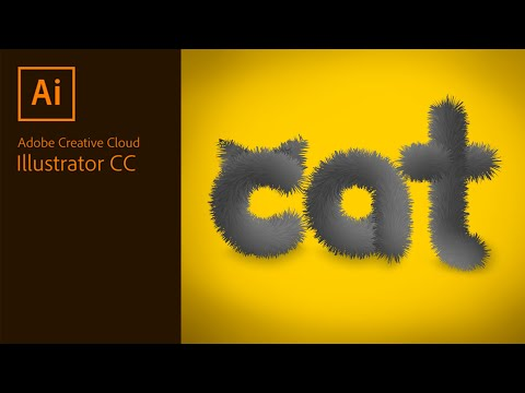 Realistic 3D Fur Effect in Adobe Illustrator thumbnail