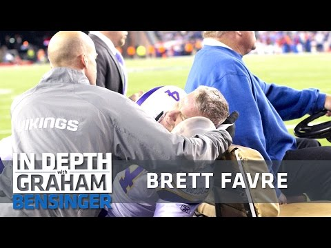 Brett Favre on last concussion, countless others